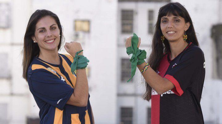 Fútbol rosarino clásico y en clave verde