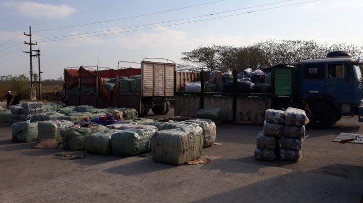 Incautan un millonario cargamento de mercadería ilegal que tenía como destino a Rosario