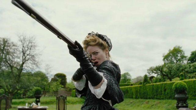 Amiga real. Emma Stone interpreta a Abigail