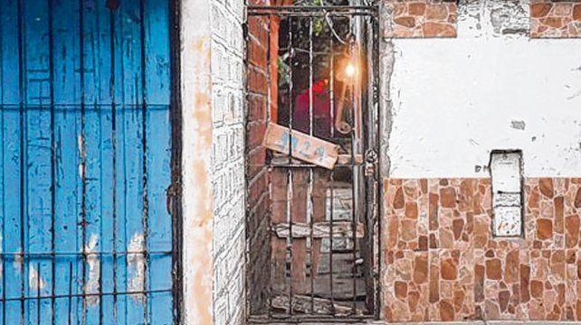 Tablada. El lugar donde acribillaron a Jerónimo Escobar y Hernán Duarte.