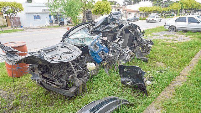 Lamentable historia repetida. Los choque de autos entre sí, o con camiones o con motos, se incrementaron.