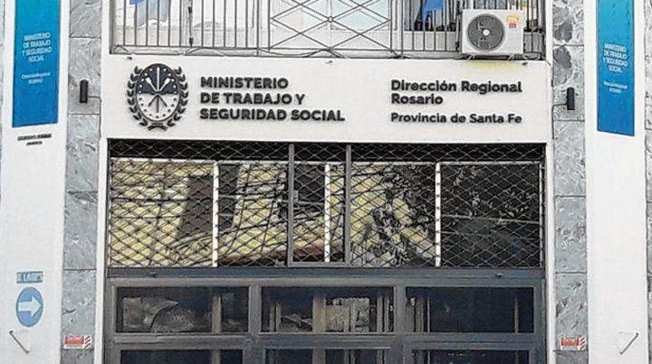 La medida fue dictada por la cartera laboral en Rosario.