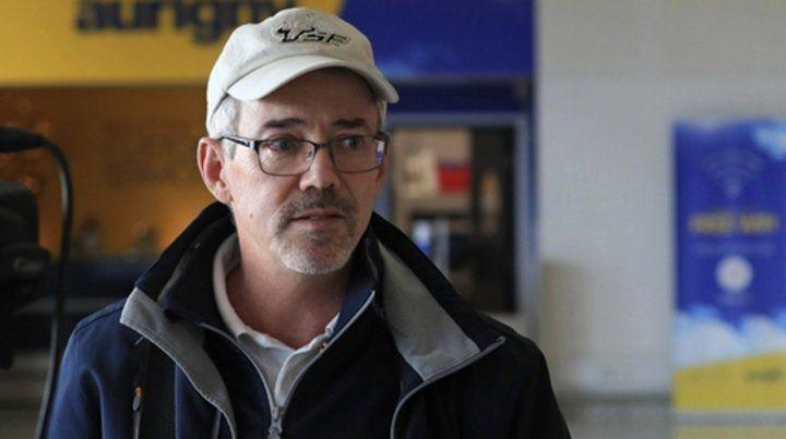 David Mearns pidió  que se refloten los restos aunque sea caro.