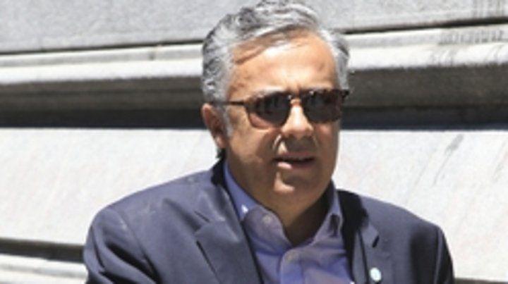 El gobernador Alfredo Cornejo.