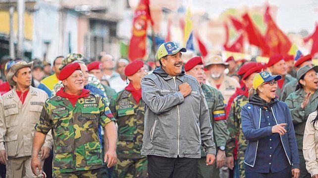 Resguardo. Maduro insiste en legitimar su mandato presidencial