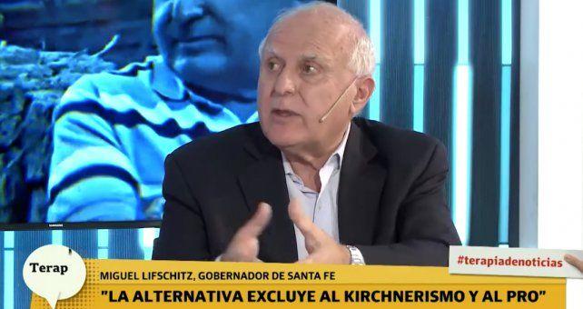 Massa no puede encabezar un proyecto alternativo y tal vez tampoco yo, sostuvo Lifschitz