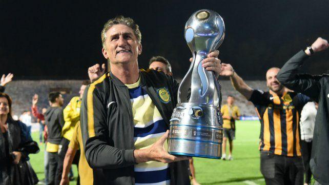 Edgardo Bauza y la consagración de campeón de la Copa Argentina con Central