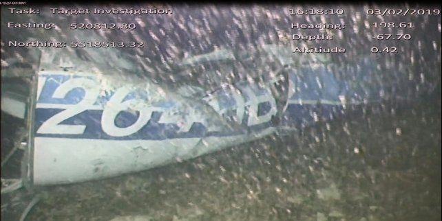 Rescataron un cuerpo del avión en el que viajaba Emiliano Sala