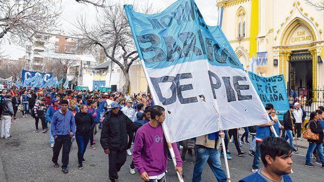 convulsionado. El Movimiento Barrios de Pie vive horas de divisiones internas y profundos enfrentamientos políticos.
