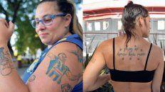 leprosos y canallas unidos en la pasion por los tatuajes