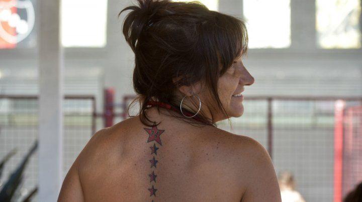 Fernanda Corte. Estrellada desde hace diez años.