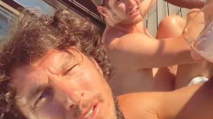 Las vacaciones de Pico Mónaco con amigos y sin Pampita