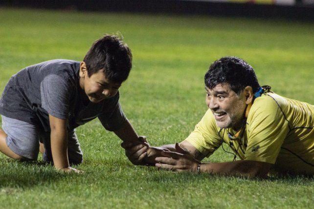 Diego Maradona tiene un refuerzo de lujo en Dorados