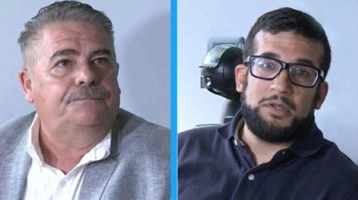 los defensores. Garrone y Díaz Duarte quieren saber cómo el letrado accedió a la evidencia difundida.
