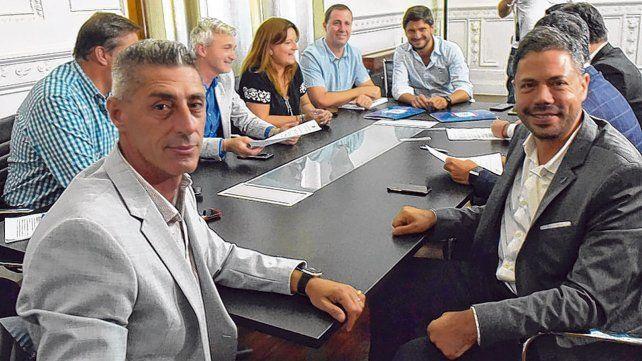 De frente. DAmico y Di Pollina no dudaron al afirmar que hay que normalizar la disputa del clásico y poder venderlo hacia afuera.
