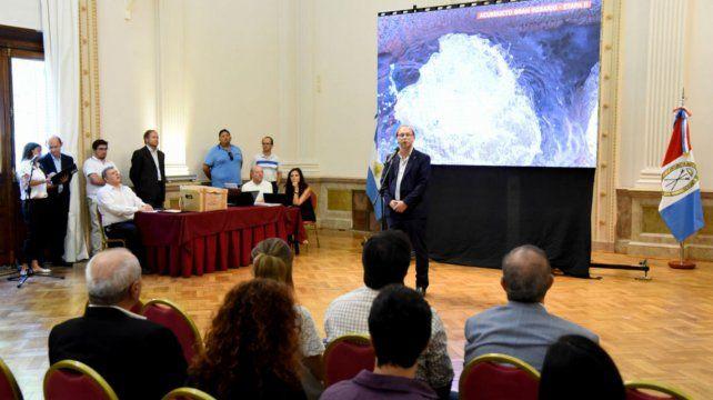 El acto. La apertura de ofertas se hizo ayer en la sede de Gobierno de Rosario.