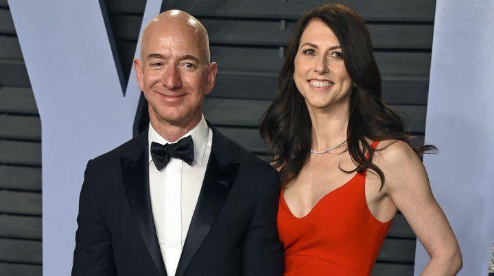 Guerra mediática. El empresario Bezos