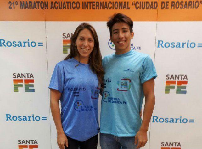 Los de acá. Julia Arino y Franco Gamarra