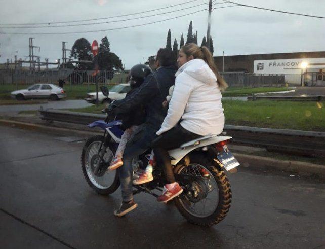 Un niño lesionado por accidente de moto entra por semana al Hospital Vilela