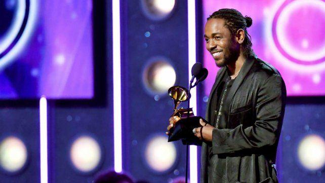 ¿Repetirá? Kendrick Lamar ganó el año pasado como mejor álbum y canción de rap. Hoy va por todo.