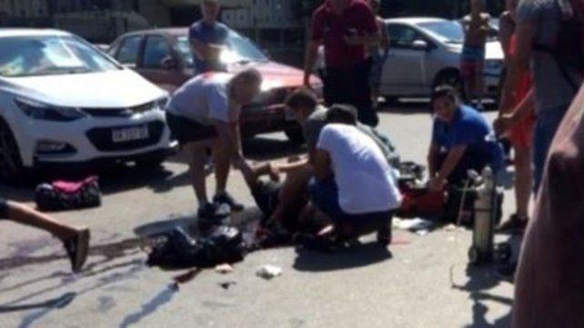 Pelea de trapitos en Palermo terminó con uno apuñalado