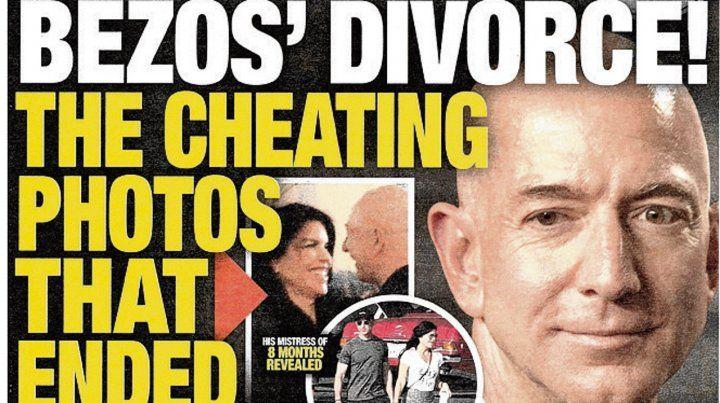 Apriete. La tapa del Enquirer del 28 de enero pasado.