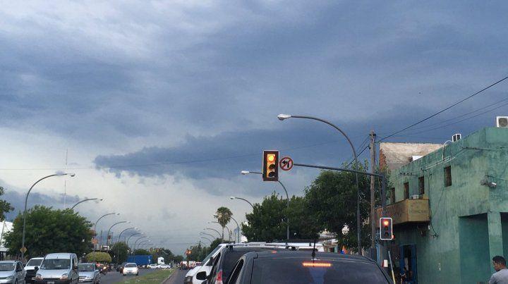 Las tormentas pueden ser localmente intensas