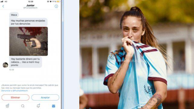 Texto macabro. La contundente amenaza contra Macarena Sánchez