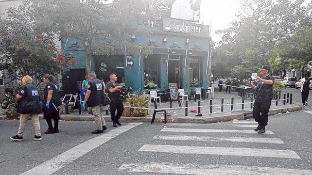 Macrocentro.Ezequiel Santori fue herido con una botella cortada el 5 de noviembre en Roca y Cochabamba.