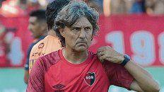 Bidoglio. El entrenador rojinegro elogió la actuación de Aguerre y no quedó conforme con el segundo tiempo.