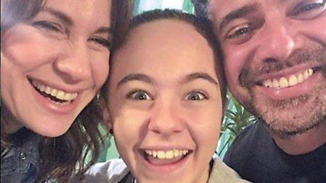 Luciano Castro y Nancy Dupláa fueron los padres de Maite Lanata en la ficción.