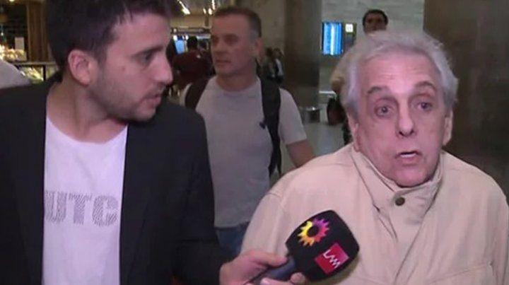 Gasalla maltrató a un periodista y De Brito lo cruzó con los tapones de punta