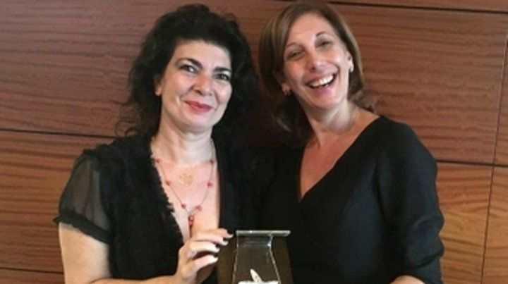 Patricia Suárez y Adriana Tursi.