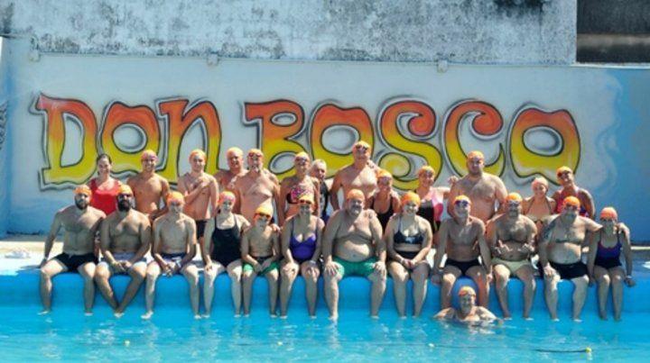 24 horas en el agua. Los deportistas entrenaron este fin de semana por postas