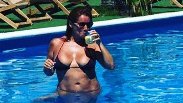 Nancy Pazos lució su nueva figura: bajó 25 kilos y escribió un libro