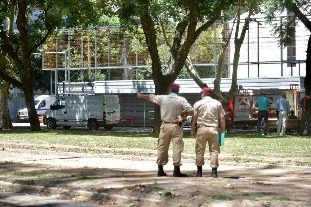 Alerta y evacuados por una importante fuga de gas en Rivadavia y Balcarce