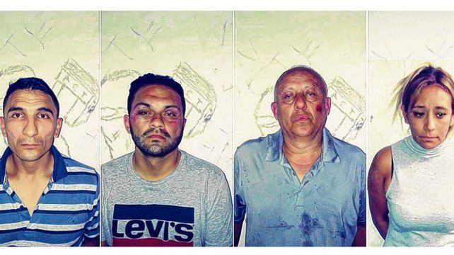 Adentro. La banda de los colombianos robaba autos estacionados con un inhibidor de alarma.