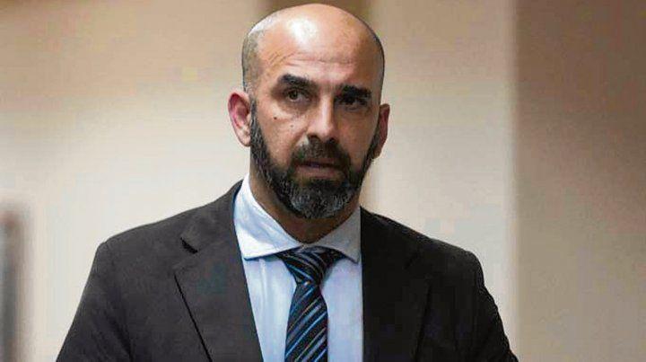 El juez. Rafael Coria integró el tribunal que condenó a José Demarrez.