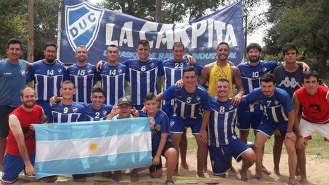 El equipo. El equipo campeón que conducen Javier Fernández y Andrés Arteta.