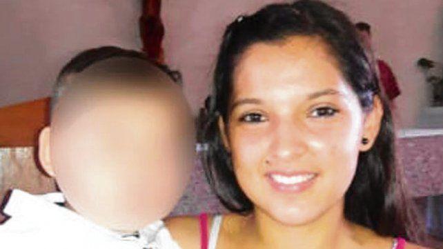 Tamara Merlo tenía 18 años y un pequeño hijo de un año.