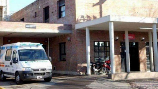 El herido fue llevado al Hospital Gamen