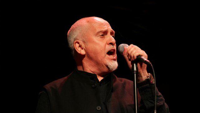 se sumó. El gran Peter Gabriel comprometió su participación en el concierto del 22 de enero en Cúcuta.