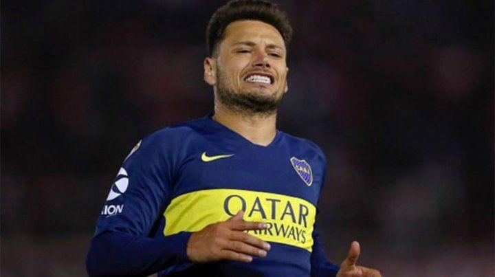 Confirmado. Mauro Zárate estará entre los once xeneizes que enfrentarán a Lanús.