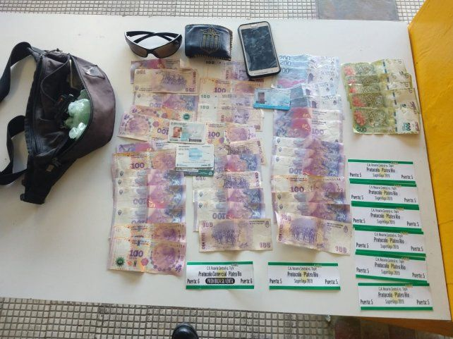 Dos detenidos por vender entradas de protocolo cerca del Gigante
