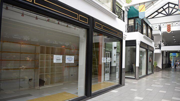 Preocupación por el número creciente de comercios cerrados en el centro rosarino