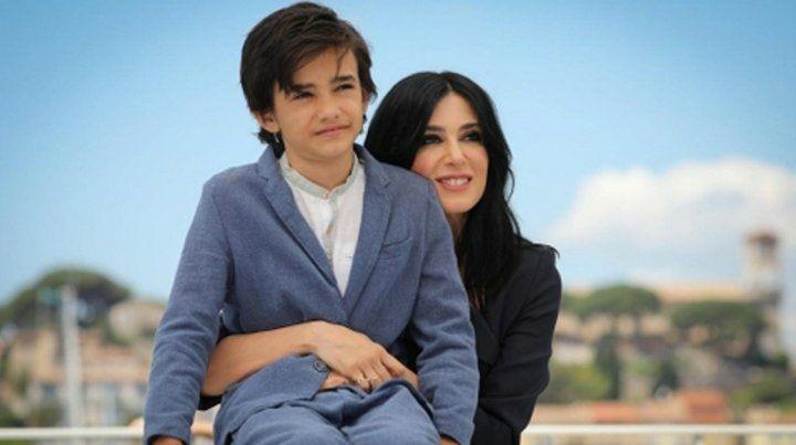 Protagonista. La directora con Zain Al Rafeea