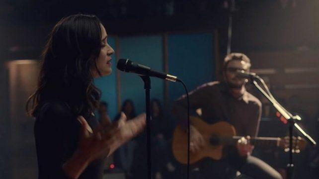 Julieta Venegas grabó con No Te Va Gustar