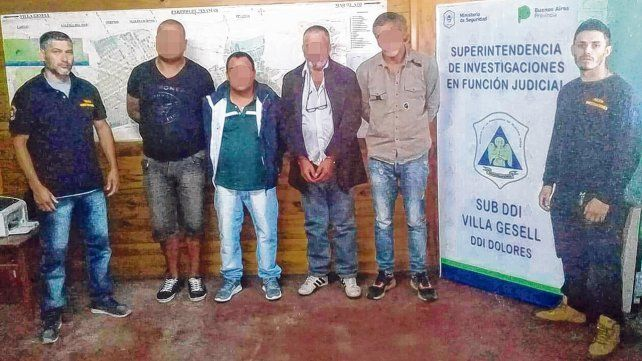 En la comisaría. Los estafadores locales en la Dirección de Investigaciones de Villa Gesell