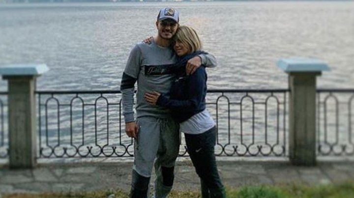 Mauro Icardi reapareció el día de su cumpleaños amoroso junto a Wanda Nara