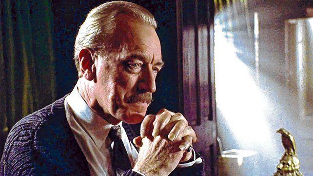 El gran actor sueco Max von Sydow en La tienda de los deseos malignos (1993).